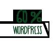 60% Wordpress