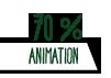 70% Animation